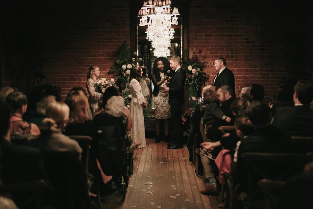 carondelet house intimate wedding
